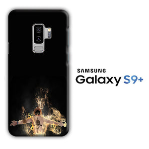 One Piece Ace Black Samsung Galaxy S9 Plus 3D Case