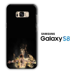 One Piece Ace Black Samsung Galaxy S8 3D Case