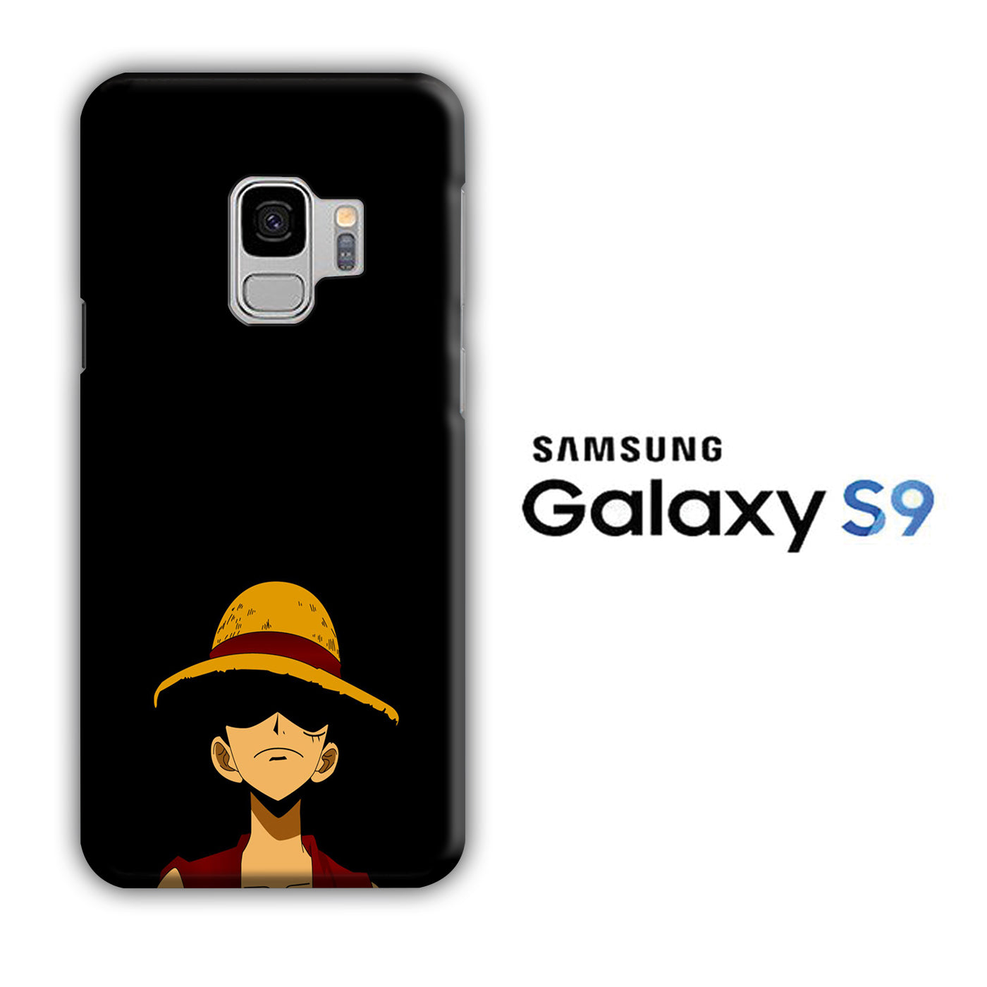 One Piece Luffy Hat Samsung Galaxy S9 3D Case