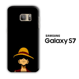 One Piece Luffy Hat Samsung Galaxy S7 3D Case