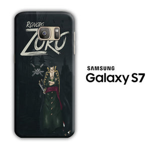 One Piece Zoro Black Samsung Galaxy S7 3D Case