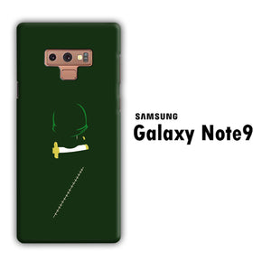 One Piece Zoro Dark Green Samsung Galaxy Note 9 3D Case