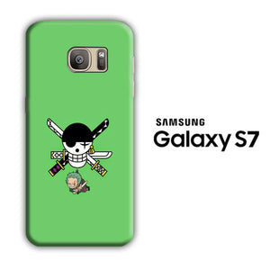One Piece Zoro Green Samsung Galaxy S7 3D Case
