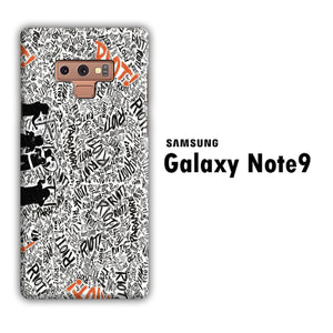 Paramore Riot Team Samsung Galaxy Note 9 3D Case