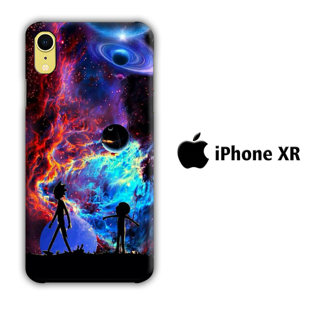Rick and Morty Aurora iPhone XR 3D Case