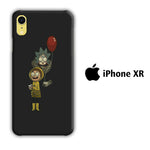 Rick and Morty Ballons iPhone XR 3D Case