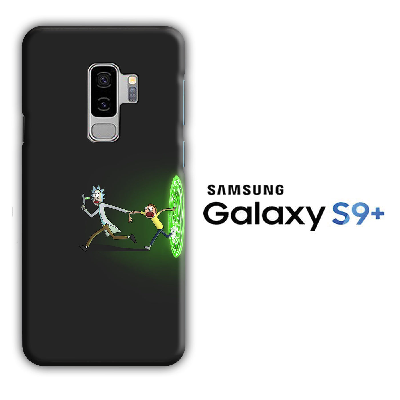 Rick and Morty Dimention Samsung Galaxy S9 Plus 3D Case