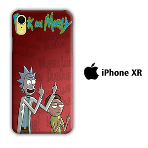 Rick and Morty Dub iPhone XR 3D Case