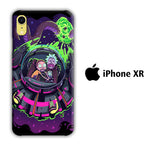 Rick and Morty Ufo iPhone XR 3D Case