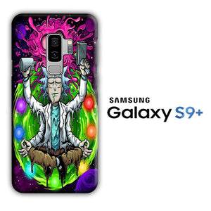 Rick and Morty Yoga Samsung Galaxy S9 Plus 3D Case
