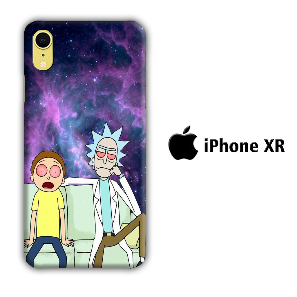 Rick and Morty Stars iPhone XR 3D Case