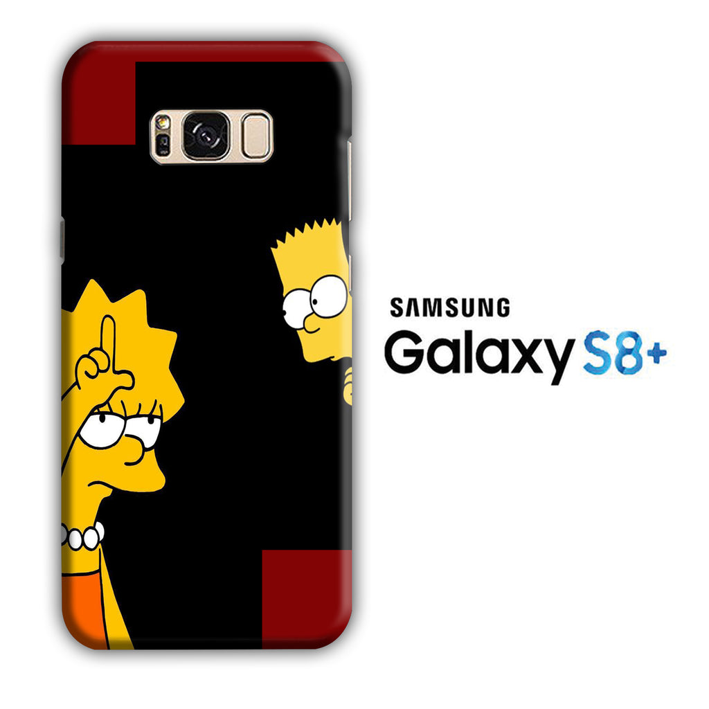 Simpson Lisa Samsung Galaxy S8 Plus 3D Case