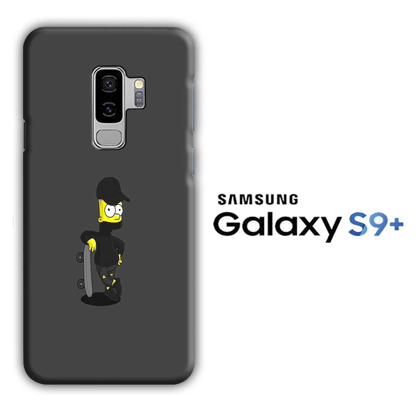 Simpson Skate Samsung Galaxy S9 Plus 3D Case