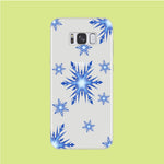 Snowflake Blue Ocean Samsung Galaxy S8 Clear Case