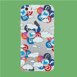 Social Media Cloud iPhone 5 | 5s Clear Case
