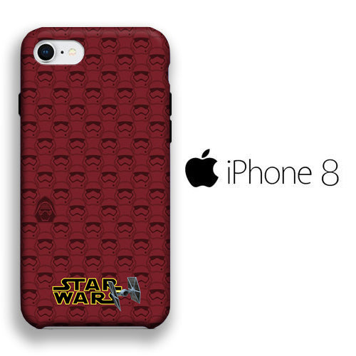 Star Wars Strormtrooper 028 iPhone 8 3D Case