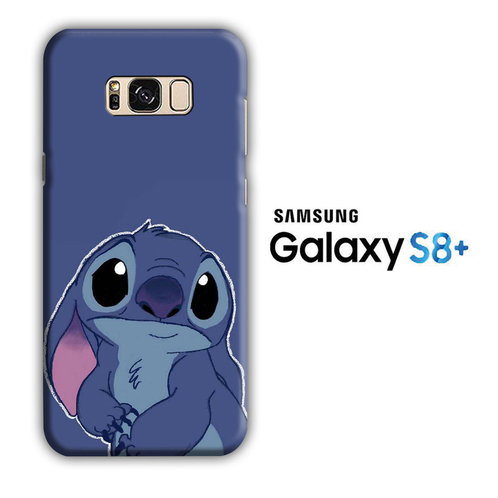Stitch Blue 002 Samsung Galaxy S8 Plus 3D Case