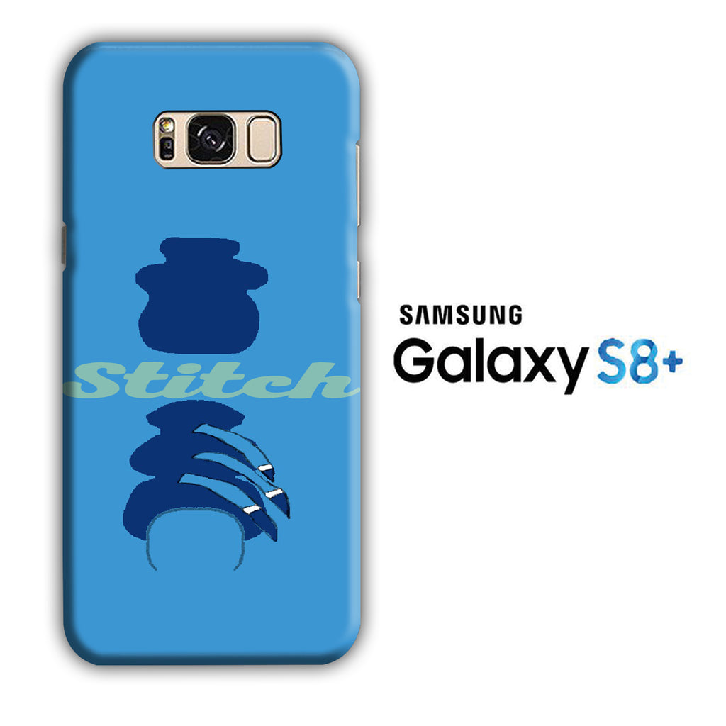 Stitch Word Camo Samsung Galaxy S8 Plus 3D Case