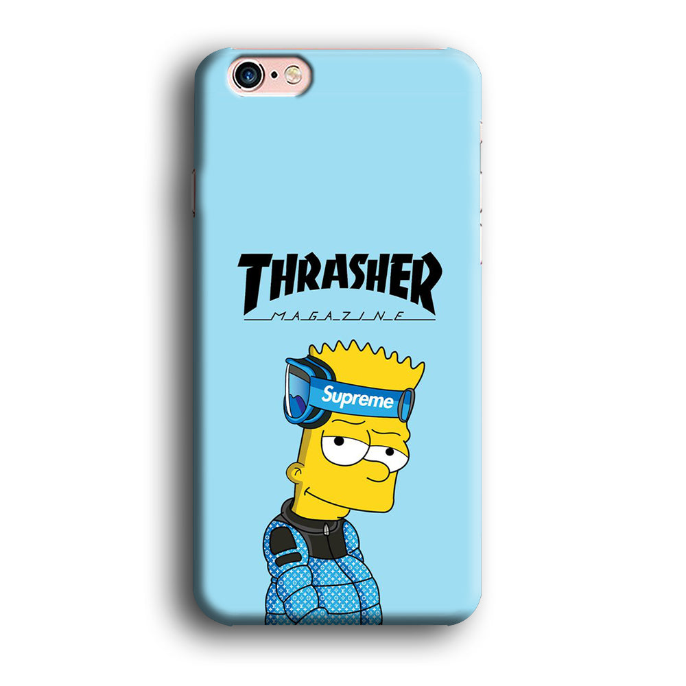 Thrasher Bart Sapphire Blue iPhone Xs Max 3D Case