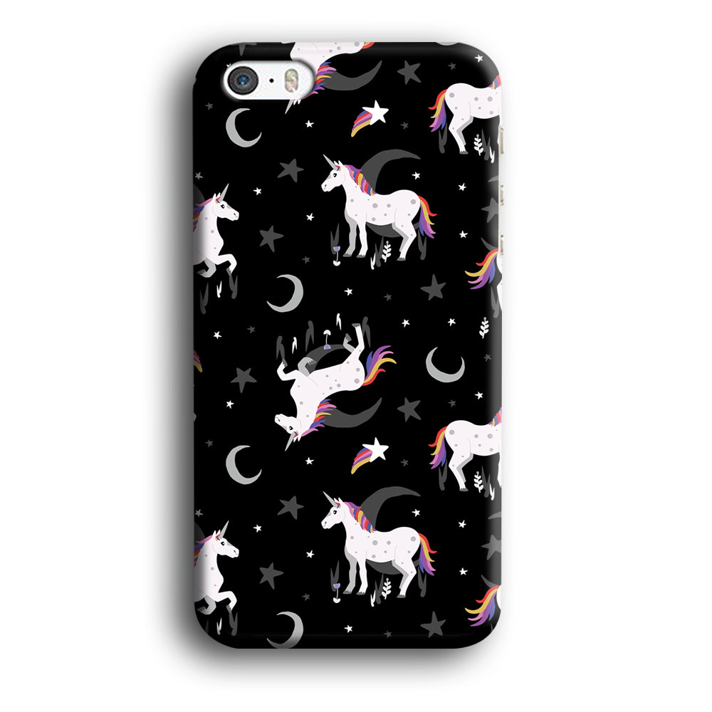 Unicorn Midnight Grey iPhone 5 | 5s 3D Case