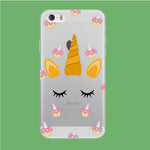 Unicorn Face Cake iPhone 5 | 5s Clear Case