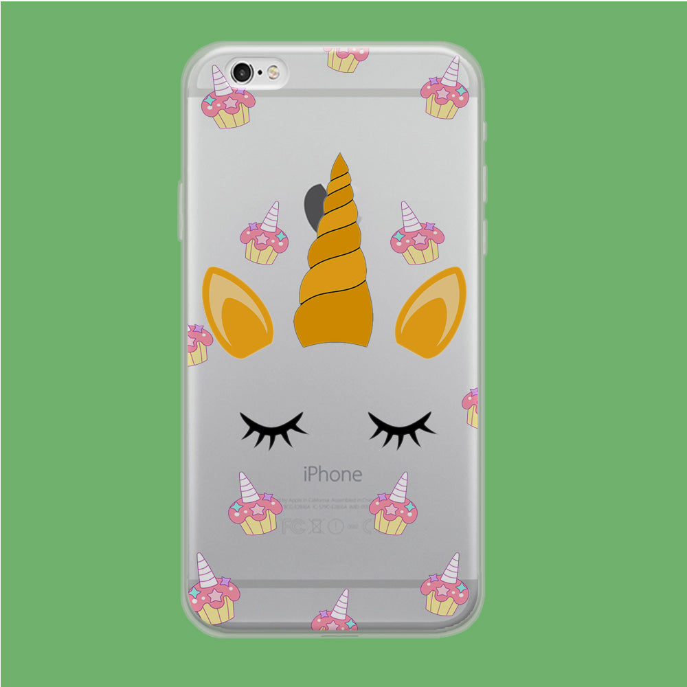Unicorn Face Cake iPhone 6 Plus | 6s Plus Clear Case