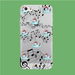 Unicorn Sleeping With Music iPhone 5 | 5s Clear Case