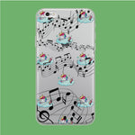 Unicorn Sleeping With Music iPhone 6 Plus | 6s Plus Clear Case