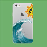 Wave Ocean Hide Sun iPhone 5 | 5s Clear Case
