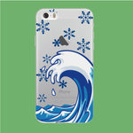 Wave Ocean Snowflake iPhone 5 | 5s Clear Case