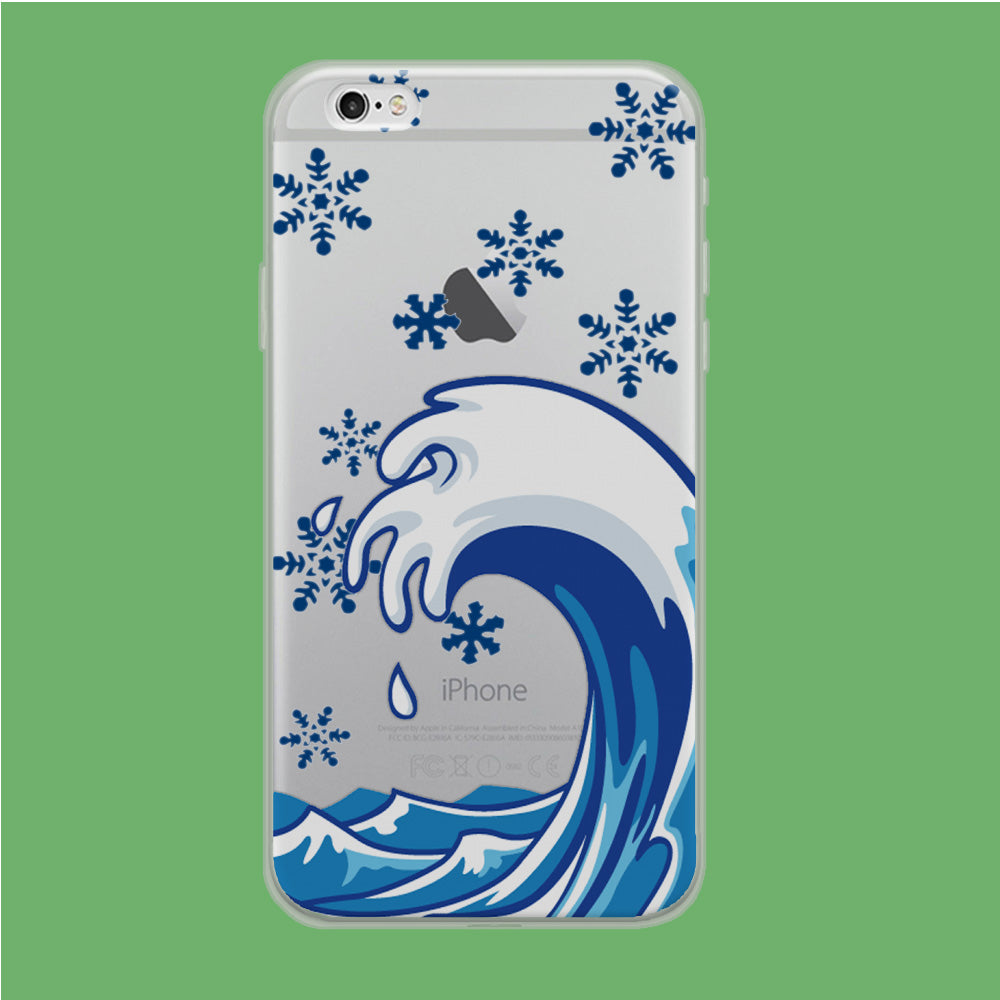 Wave Ocean Snowflake iPhone 6 Plus | 6s Plus Clear Case