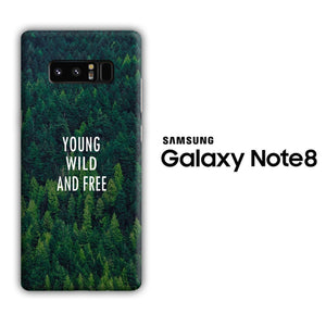 Young Wild Samsung Galaxy Note 8 3D Case