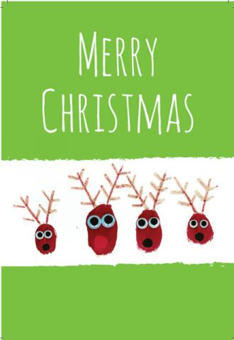 Christmas Cards - Reindeer