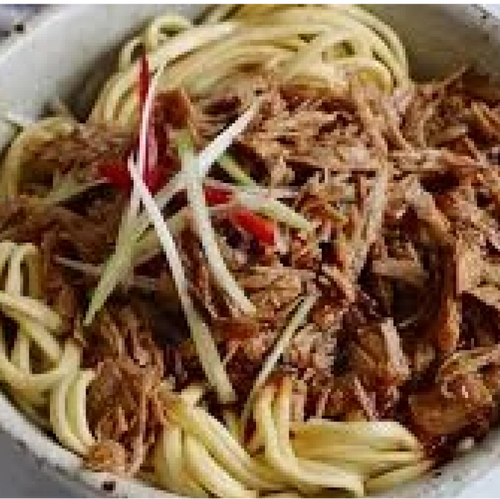 Meatless Shredded Hoisin Duck