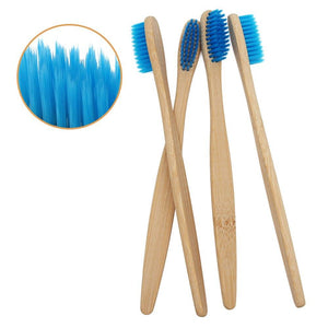 Blue Bamboo Toothbrush