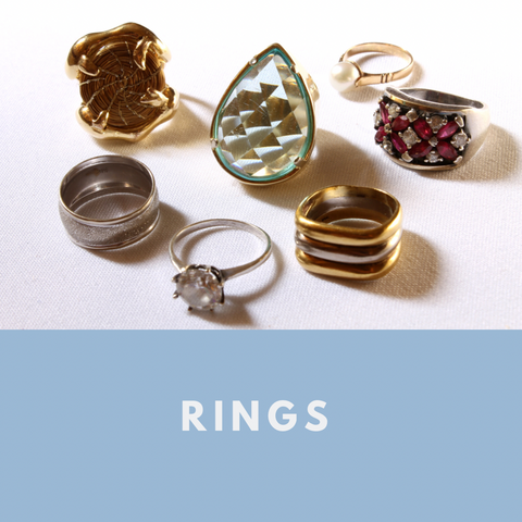 Rings from various styles