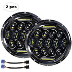 LED Headlight for Jeep Wrangler JK TJ LJ