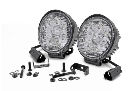 RC 4-INCH LED ROUND LIGHTS