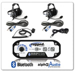 Rugged Radio 2-Place Intercom with BTU Headsets