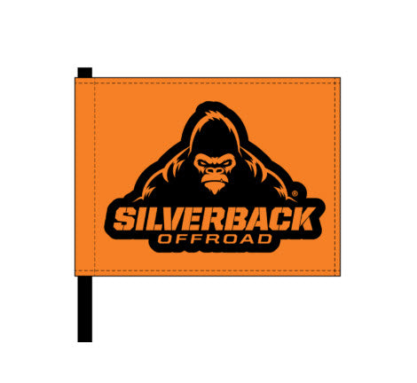 Silverback Offroad Flag Pendant
