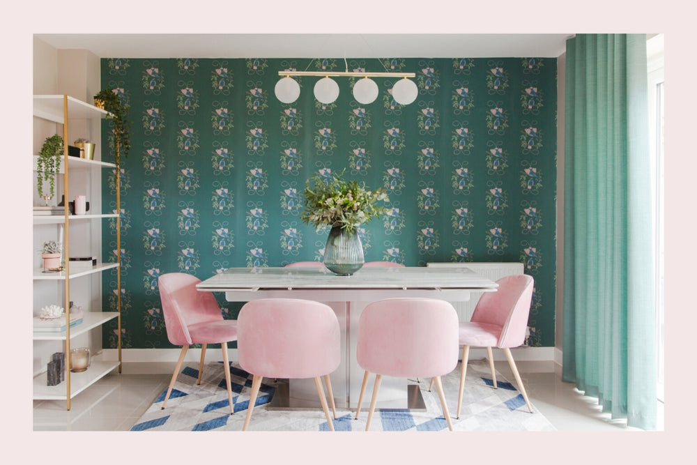 How to use wallpaper as design inspiration
