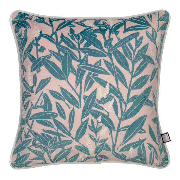 Botanical velvet Cushions