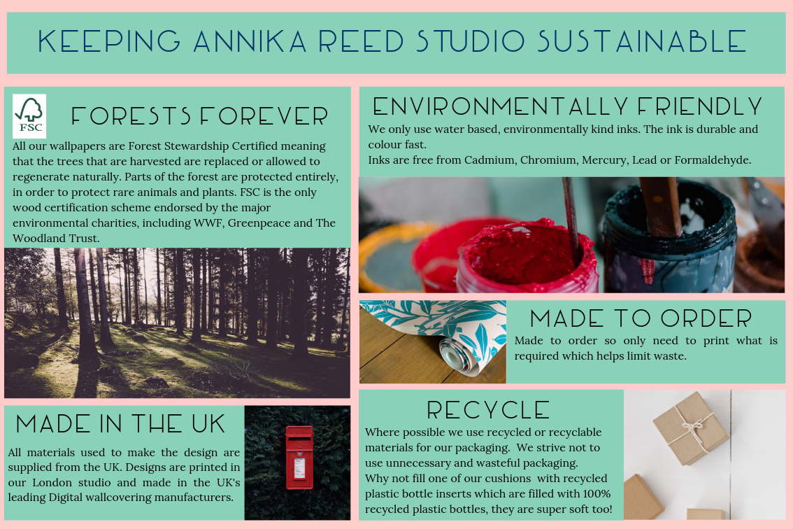 How Annika Reed Studio is sustainable
