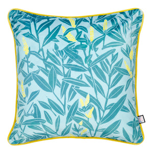 Load image into Gallery viewer, Velvet Cushion Climbing Vine - Beryl & Blushes - Annika Reed Studio