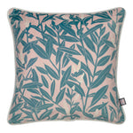 Velvet Cushion Climbing Vine - Beryl & Blushes