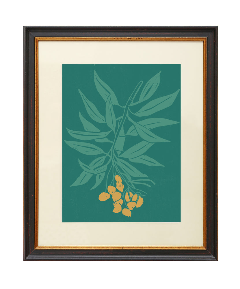 Giclée Print Branch of Mangos - Orange Fruit