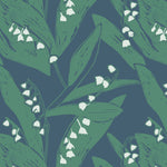 Giclée Print Lily of the Valley - Leaves at Midnight