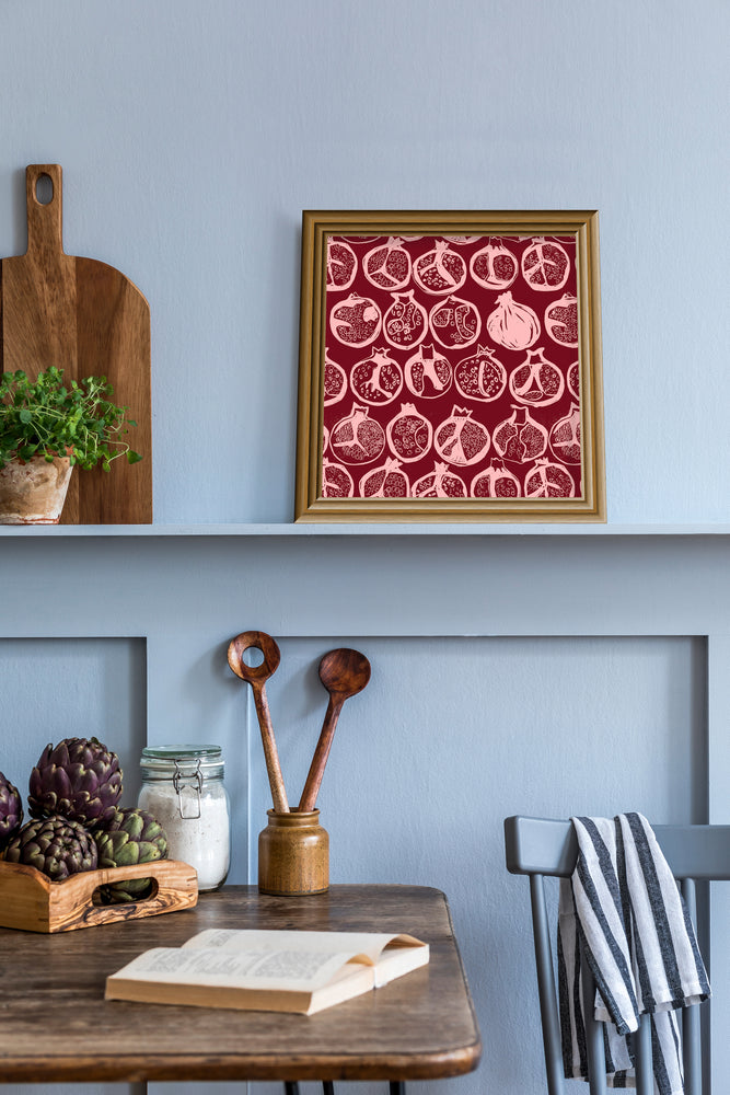 Load image into Gallery viewer, Giclée Print Pomegranate - Raspberry