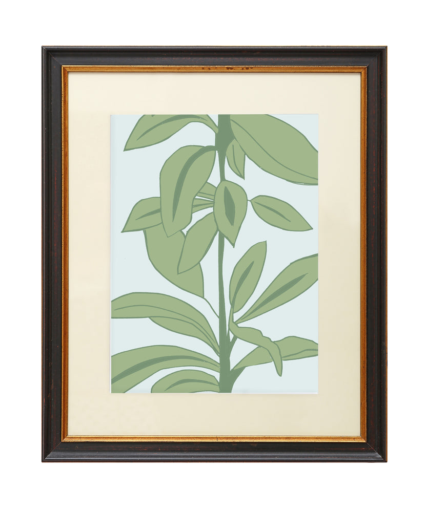 Load image into Gallery viewer, Giclée Print Rubber Plant - Blue Rubber