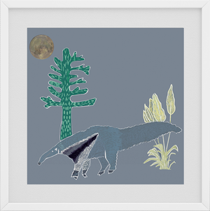 Giclée Print The Anteater - Anteaters Breath
